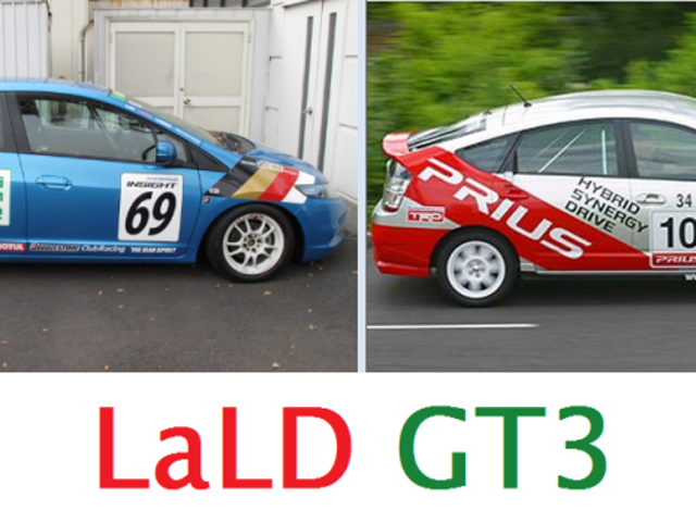 LaLD GT3 and GT2-Am Spec Racing UPDATE