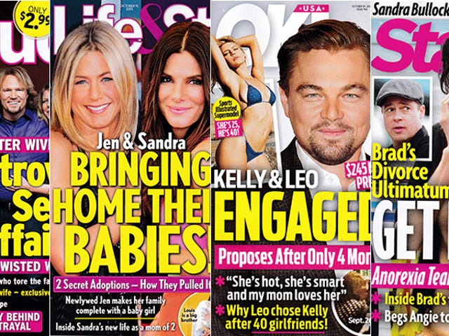 This Week In Tabloids: Leo Breaks the Pussy Posse's Golden Rule By Getting Engaged