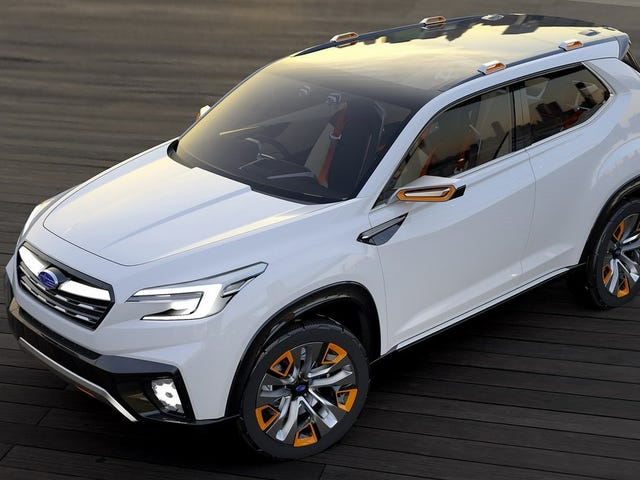 Subaru Studerer Subaru Med To Nye Begreber At Debut