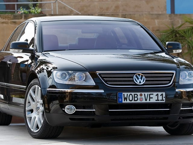 Yay! The Phaeton Lives On! Despite VW Shenanigans