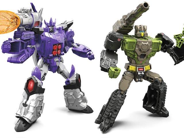 Nästa generation av <i>Transformers</i> Leksaker Harkens tillbaka till klassikerna - med transformerande huvuden
