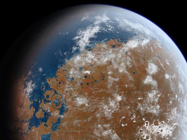 Oude Mars was witter en warmer dan we ooit gerealiseerd hebben