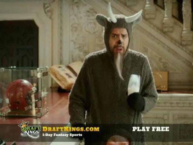 There Have Been More Than 60,000 DraftKings And FanDuel Commercials This Year