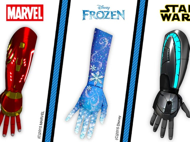 Iron Man, Frozen, and Star Wars Prosthetics Will Boost Kids' Confidence