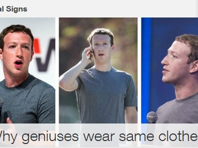 Why Geniuses Wear Same Clothes?
