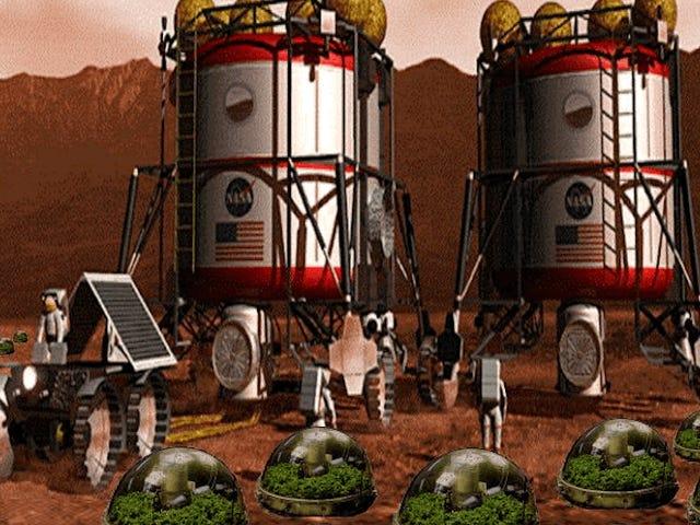 Wir haben einen NASA-Botaniker gebeten, uns beim Entwerfen einer besseren Farm auf dem Mars als <i>The Martian's</i> zu helfen