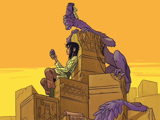 In the Webcomic Stonebreaker, Demonic Slaves Have Expelled Their Human Masters from an Ancient City