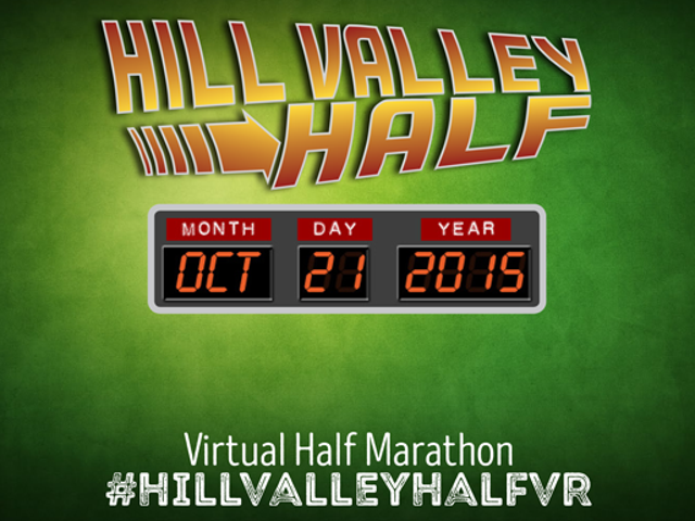 Run For Fun In the Hill Valley Virtual Half Marathon