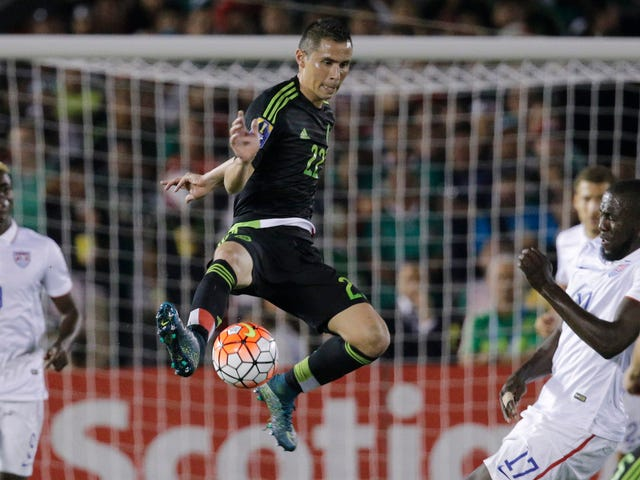 Meksiko Beat USMNT koska he ovat parempia joukkueita