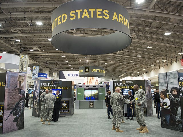 Why Green Is The New Tan At The Army Association's Big Conference And Arms Expo
