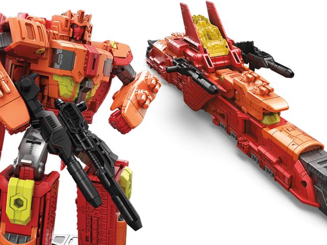 Hasbros nya Sentinel Prime Toy växer in i en grymt rymdtåg