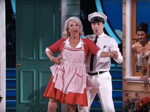Dancing With The Stars triste Dancing With The Stars journaux de Dancing With The Stars : Paula Deen enfin à la culotte clignotant et blagues de sperme