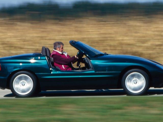 BMW Z1はドライブするのに圧倒的な美しい芸術作品です