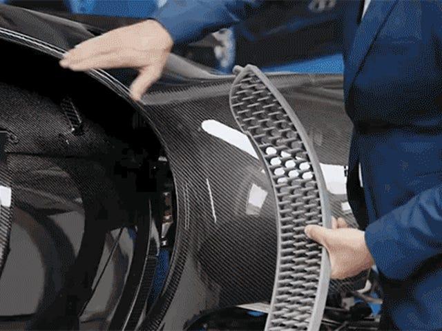La Bugatti Chiron se déroule comme prévu malgré les énormes compressions de Volkswagen