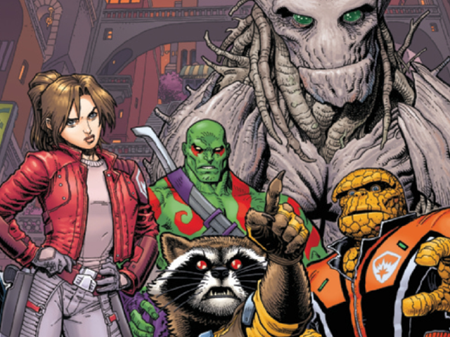 In This Week's New Comics, Rocket Raccoon Takes Charge Of The New Guardians Of The Galaxy
