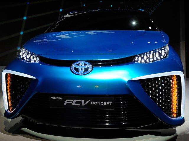 Toyota memberi tumpuan kepada pengeluaran minyak diesel atau gasolina: 2050
