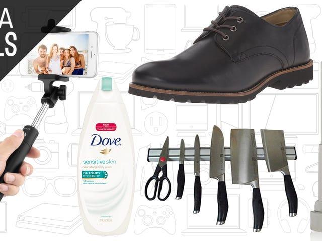 Die besten Angebote heute: Rockport Schuhe, Body Wash, Maybelline und mehr