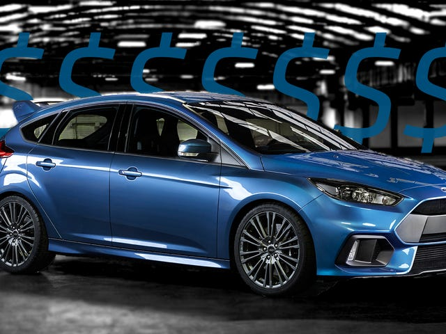 Ford Focus RS Pre-Orders Are Selling Like Hot Cakes