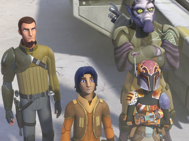 <i>Star Wars Rebels</i>' Second Season Kicks Off With a Great Steven Spielberg Homage