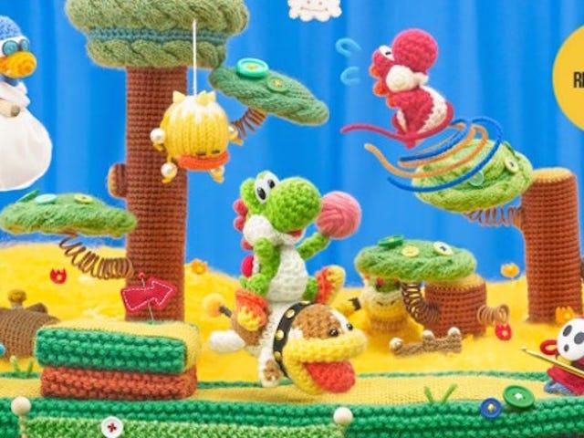 <i>Yoshi's Woolly World</i> : รีวิว <i>Kotaku</i>