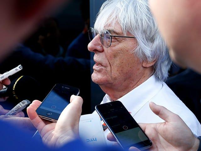 Milliarder leder av formel 1 står opp for Sepp Blatter og også korrupsjon