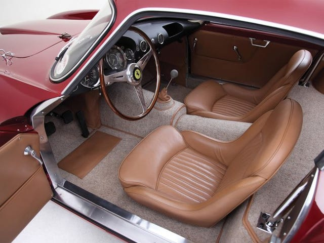 What does the interior of a vintage Ferrari <i>smell</i> like?