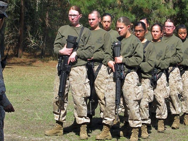 Marine Corps Studie om Kvinder i Bekæmpelse 'Flawed' og Ufuldstændig