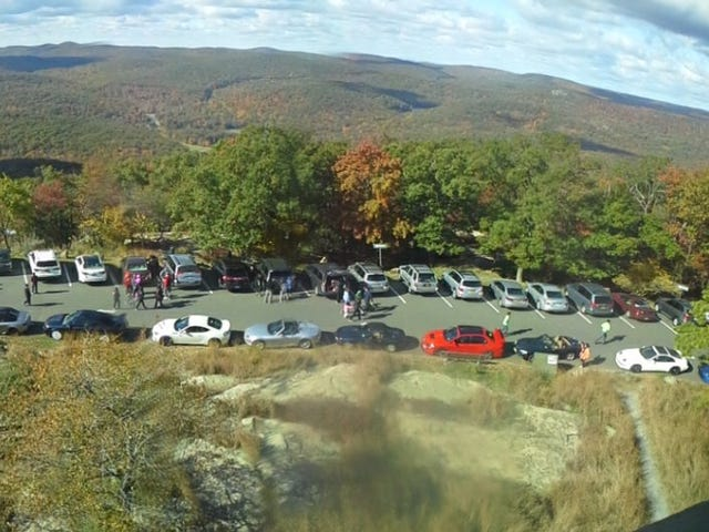 Bear mountain, NY is a cool place for cars and nature!