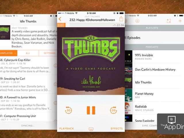 O melhor gerente de podcast para iPhone