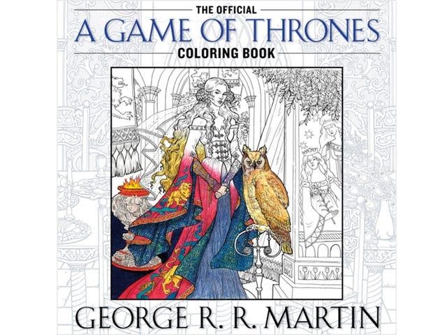 Офіційна Game of Thrones книжка-розмальовка Game of Thrones насправді не для дітей