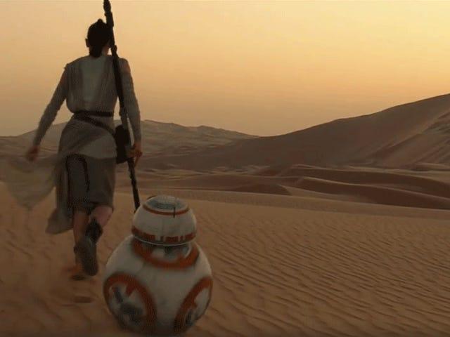 Pourquoi y a-t-il une brute Subaru dans la remorque de <i>Star Wars: The Force Awakens</i> ?