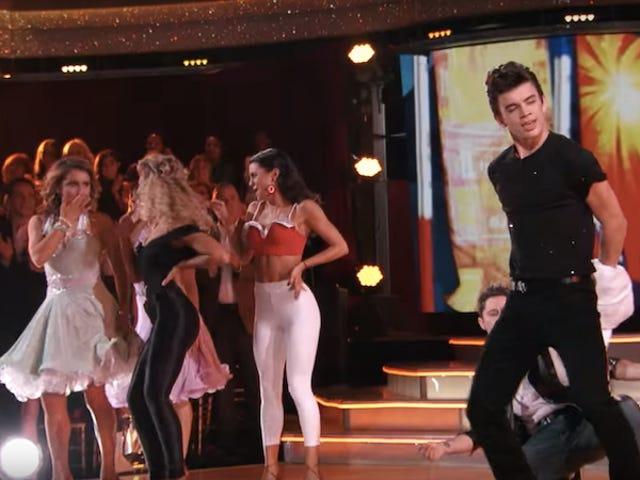 Sad Dancing With The Stars Diaries: Hvad er Olivia Newton-John, selv gør her?