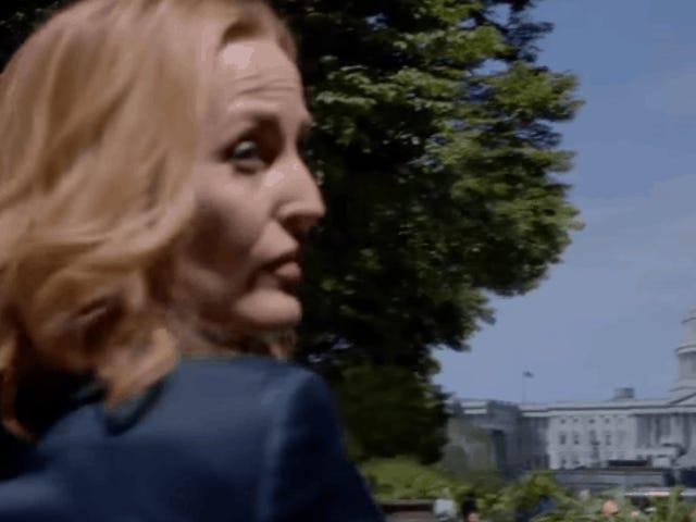 एल नुएवो <i>teaser</i> डे <i>The X-Files</i> नोस रिकुर्दा क्यू ला वर्दाद एस्टा एलाइ अफेरा