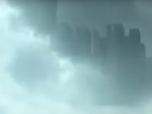 Freaky Illusion Gives the Impression of a Floating City in the Clouds