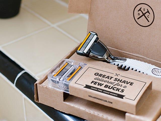 Shave with a Fresh Dollar Shave Club Razor Anytime for a Few Bucks