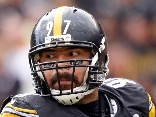 NFL får sin väg på Cameron Heywards Cancer-Awareness Eye Black