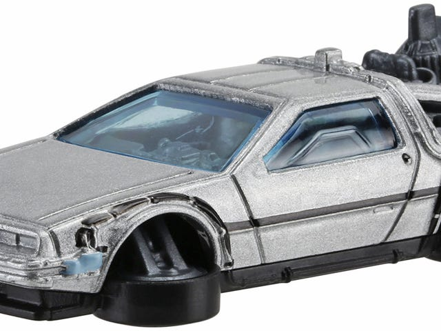 Imagination, Not Roads, Is What Hot Wheels' Hover ModeBTTF II DeLorean Needs to Fly