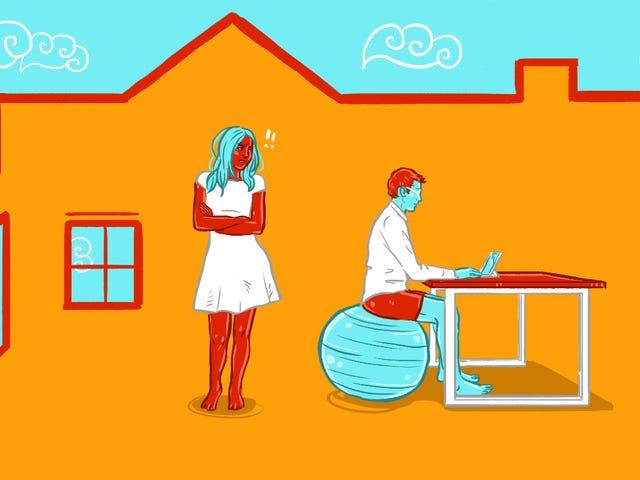 Comment rester sain d'esprit quand vous et votre autre proche travaillez à la maison