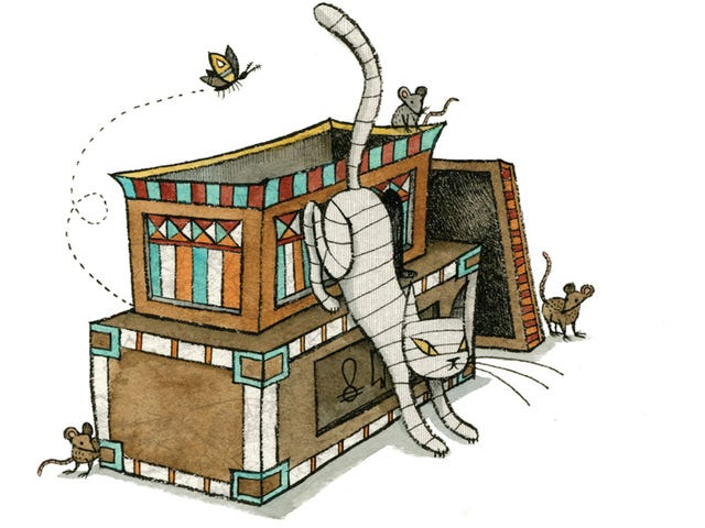 Mummy Cat Is The Utterly Adorable Undead Creature That Your Kids Will Love