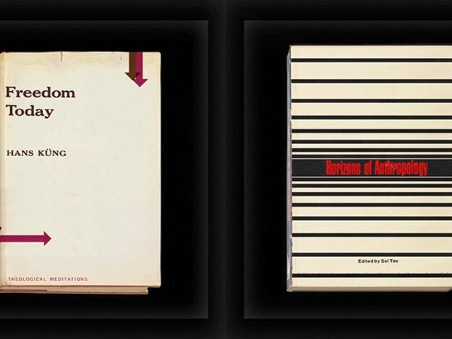 I wish these animated graphics of vintage book covers were real