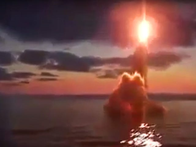 This Russian Missile That Is Slung Out Of A Ship's Torpedo Tube Is Pretty Nuts