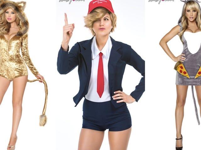 """Ne idioottiset """"seksikäs"""" viraaliset Halloween-puvut ovat vain markkinointijärjestelmä"""