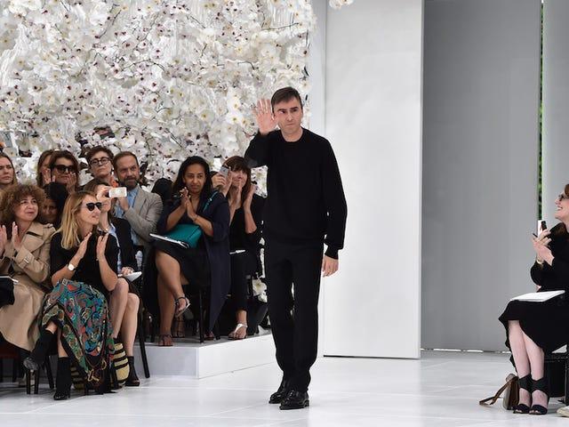 Raf Simons Is Leaving Dior