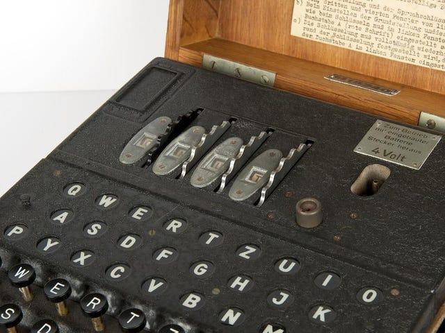 Rare Nazi Enigma Machine Smashes Record at Auction