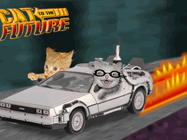 Cat to the Future in the Friday Open Thread