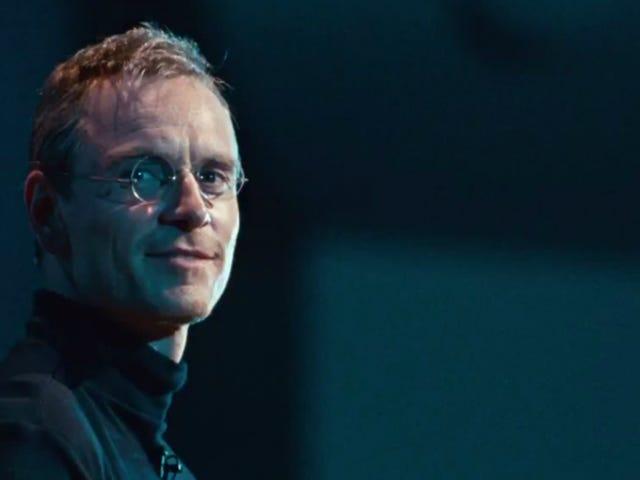 <i>Steve Jobs</i> är ett oavbrutet skriven, mestadels otroligt showcase för Aaron Sorkin