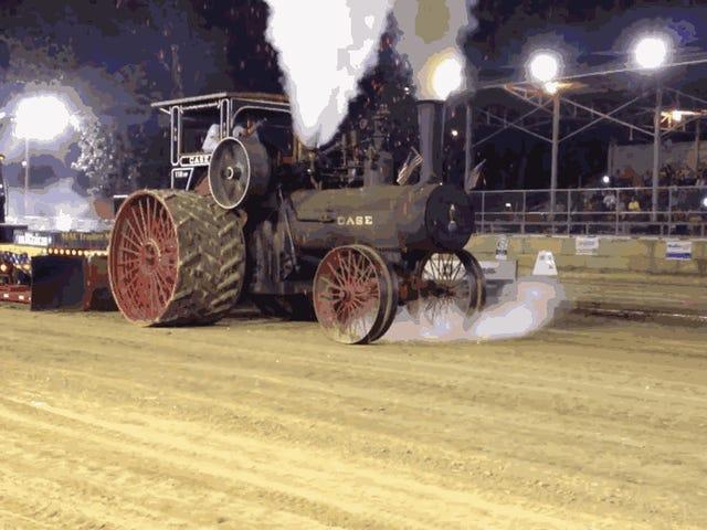 Ang Lahat ng Gusto Ko Ang Lahat ng Araw Ay Sumakay Sa Kahanga-hanga na Pagsunog ng Steam Tractor na Ito