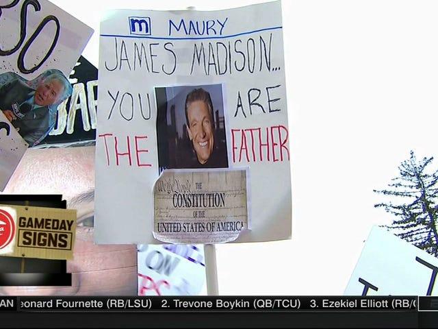 Lee Corso ทำก้น Chugs: วันนี้ James Madison <i>College GameDay</i> เข้าสู่ระบบ Roundup