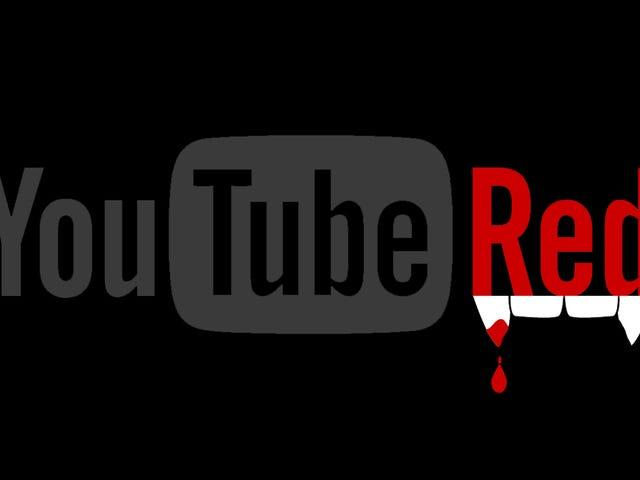¿Pierden los Youtubers, YouTube Red'i mi?  Muchos creen que sí, y comienza la batalla