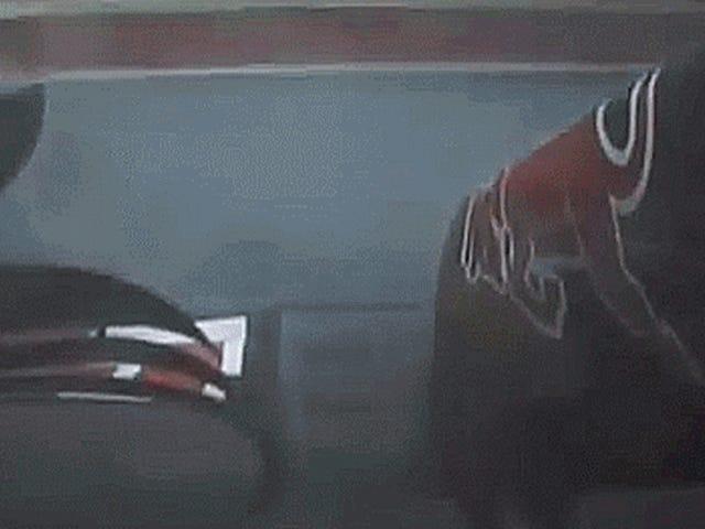Natte F1 kwalificeert vanochtend de rode vlag voor de meest voorspelbare reden ooit